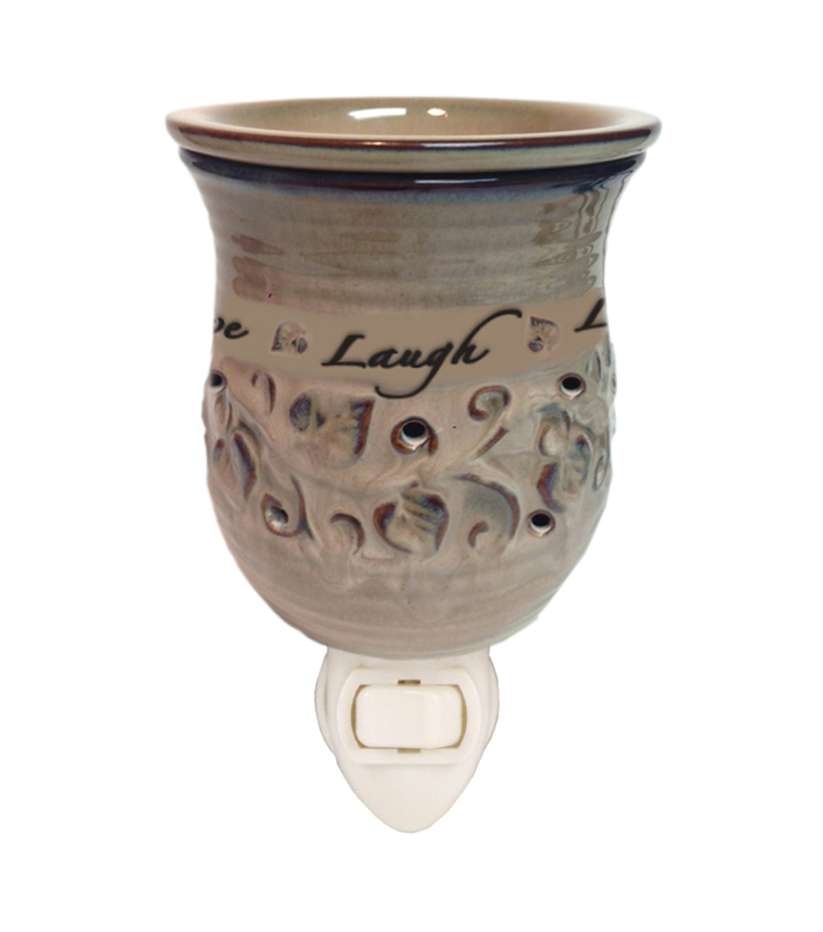 Hudson 43 Candle & Light Collection Live Love Laugh Plug In