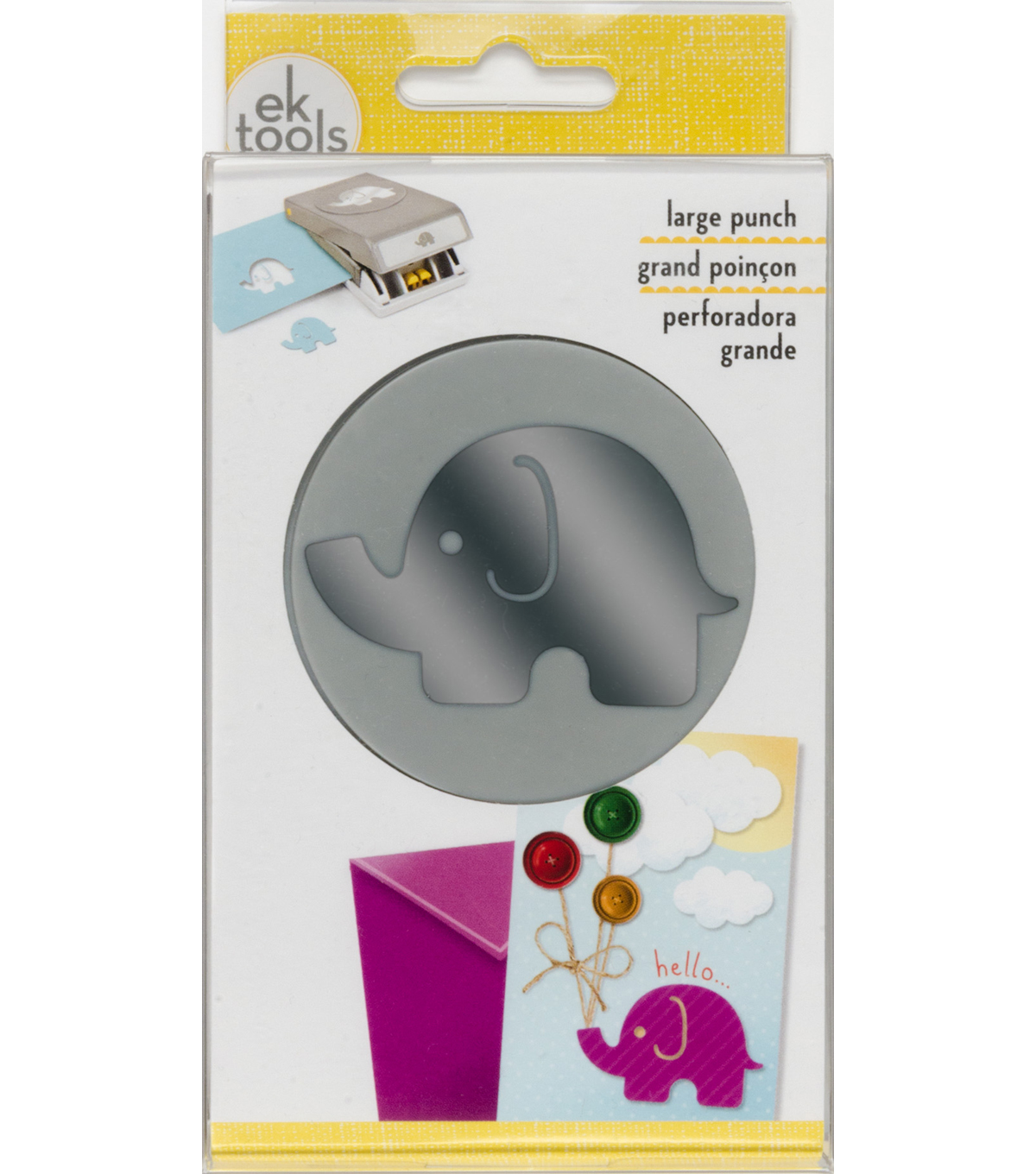 EK Tools Double Punch-Elephant