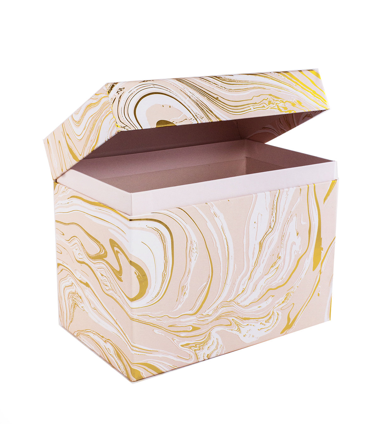Park Lane Card Storage Box-Marble