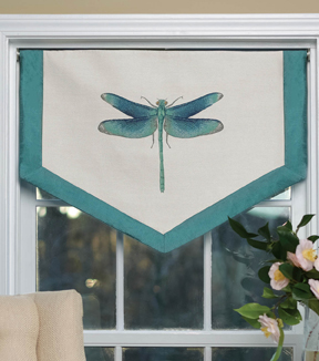 Square By Design-Dragonfly 25\u0022 Woven Square