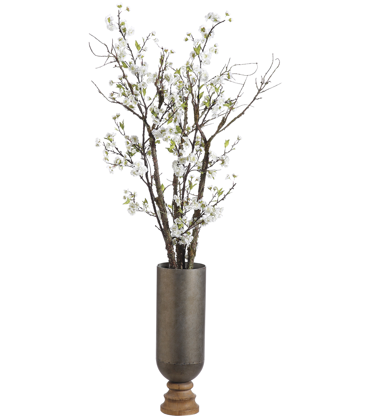 Cherry Blossom in Iron Wood Planter 66\u0027\u0027