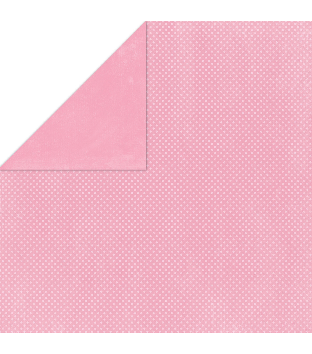 Double Dot Double-Sided Textured Cardstock 12\u0022X12\u0022-Passion Fruit