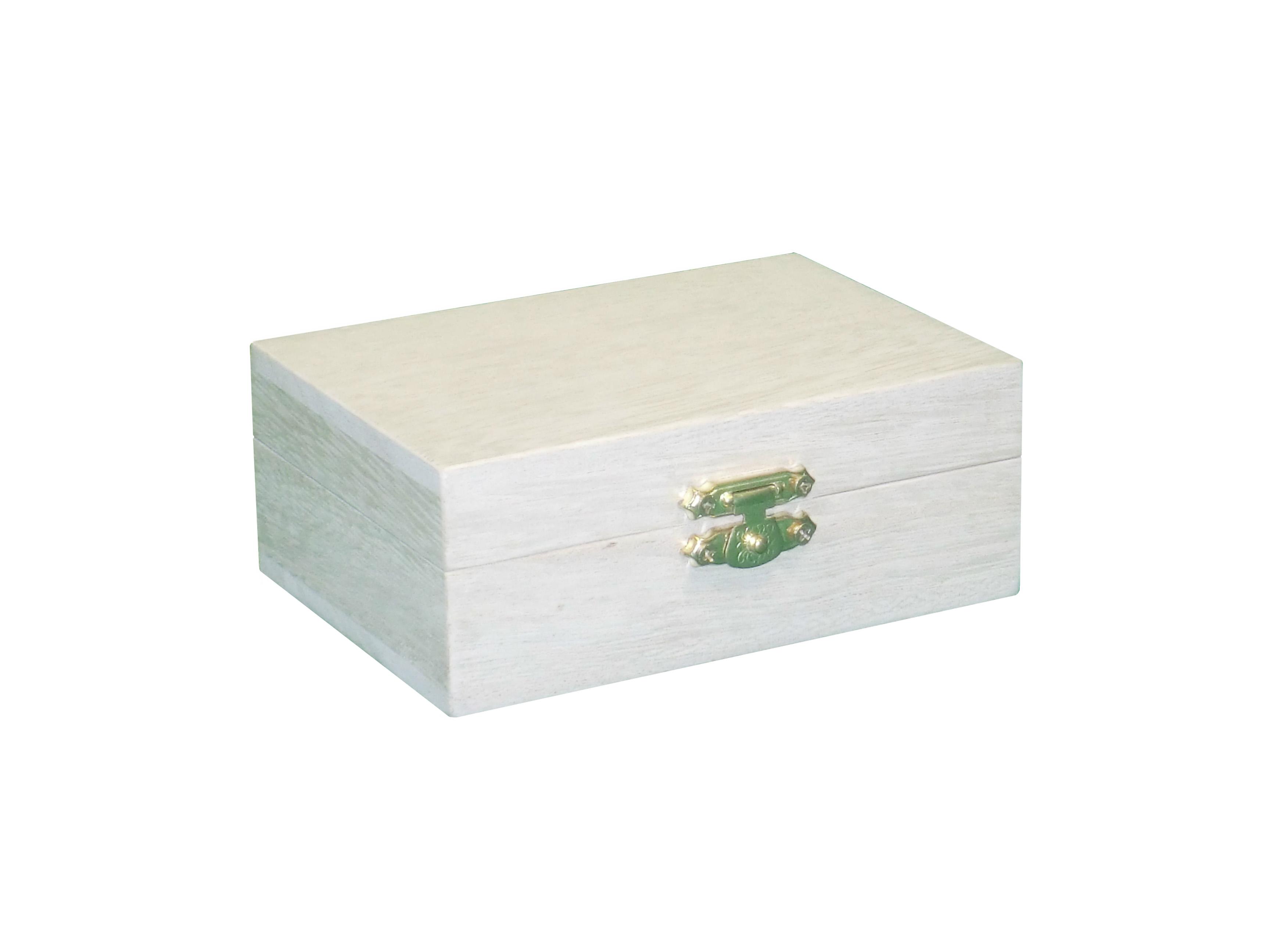 Merveilleux Small Storage Box W/ Hinged Lid