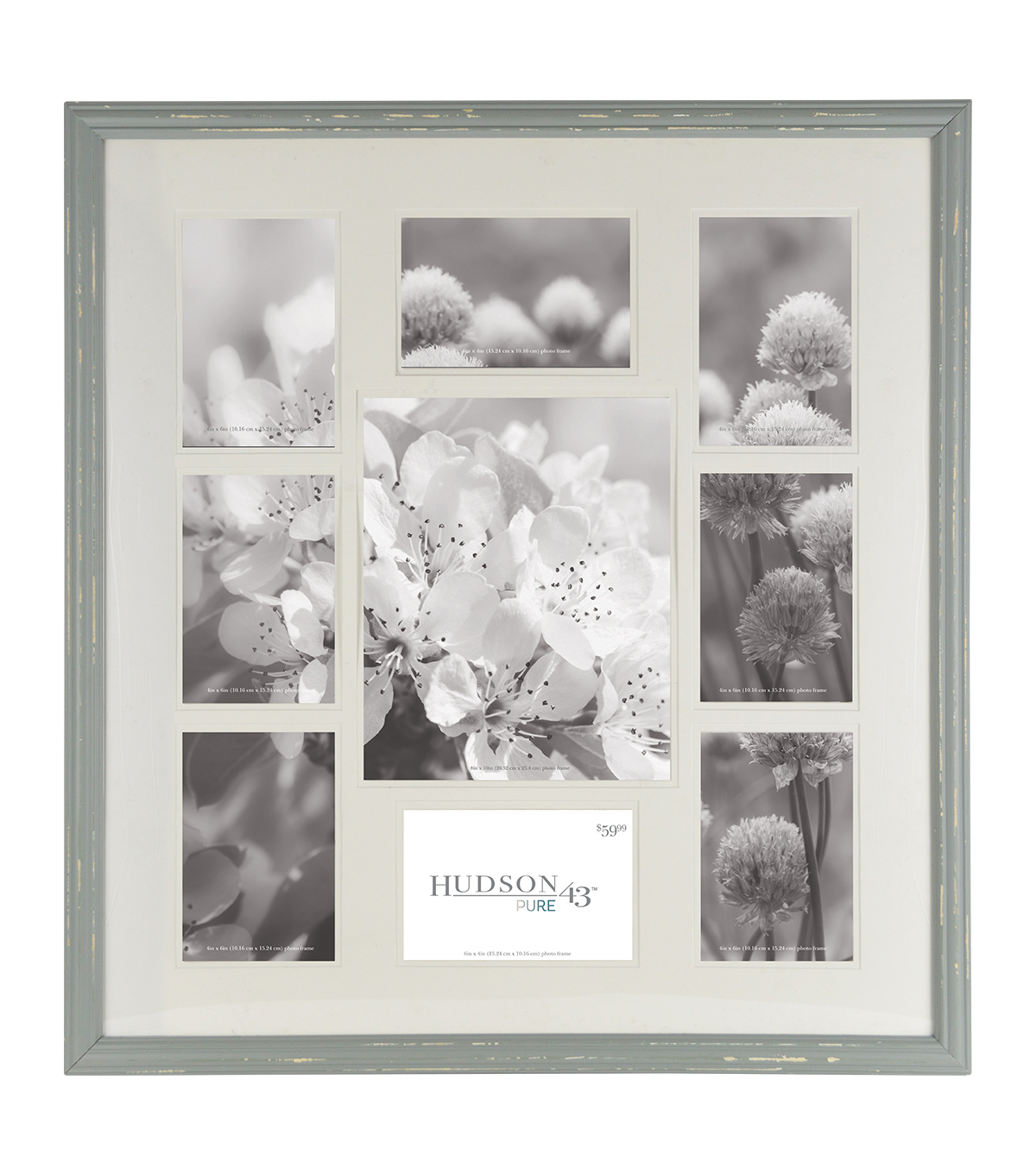Hudson 43 Pure 9 Image Collage Frame 24\'\'x22\'\'-Gray | JOANN