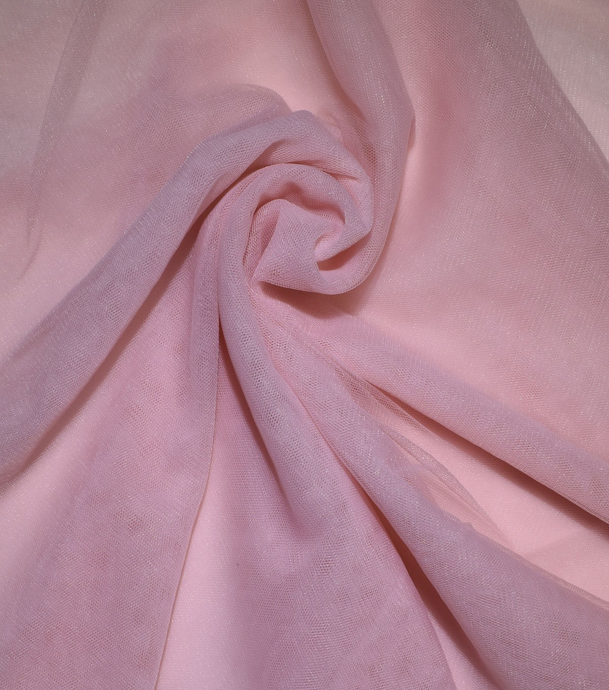 Casa Collection Solid Tulle Fabric 57\u0027\u0027, Peach Skin
