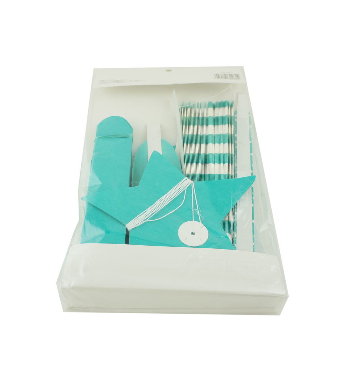 Cheer & Co 7pc Party Decoration Kit-Teal