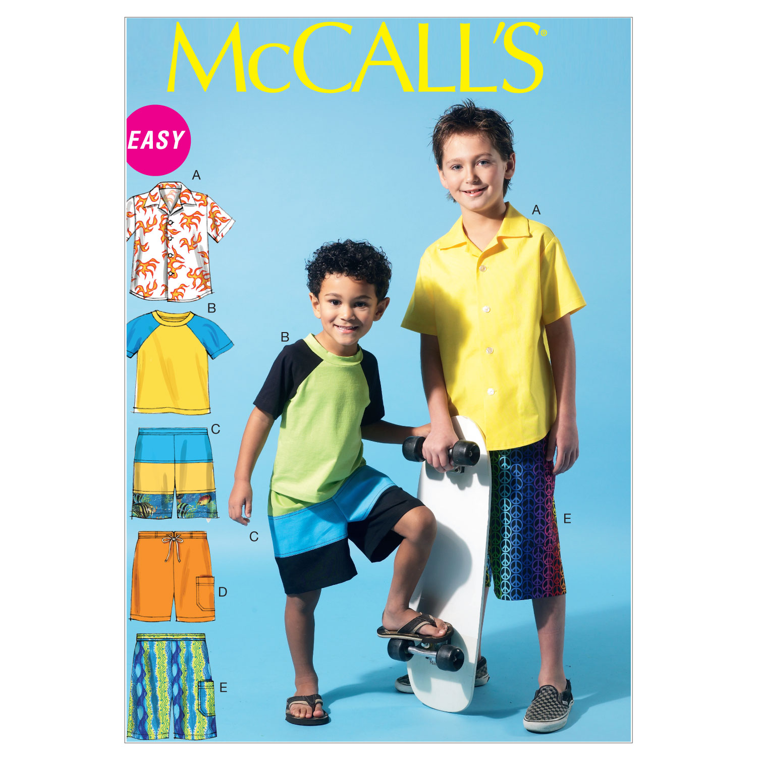 McCall\u0027s Girls Casual-M6548