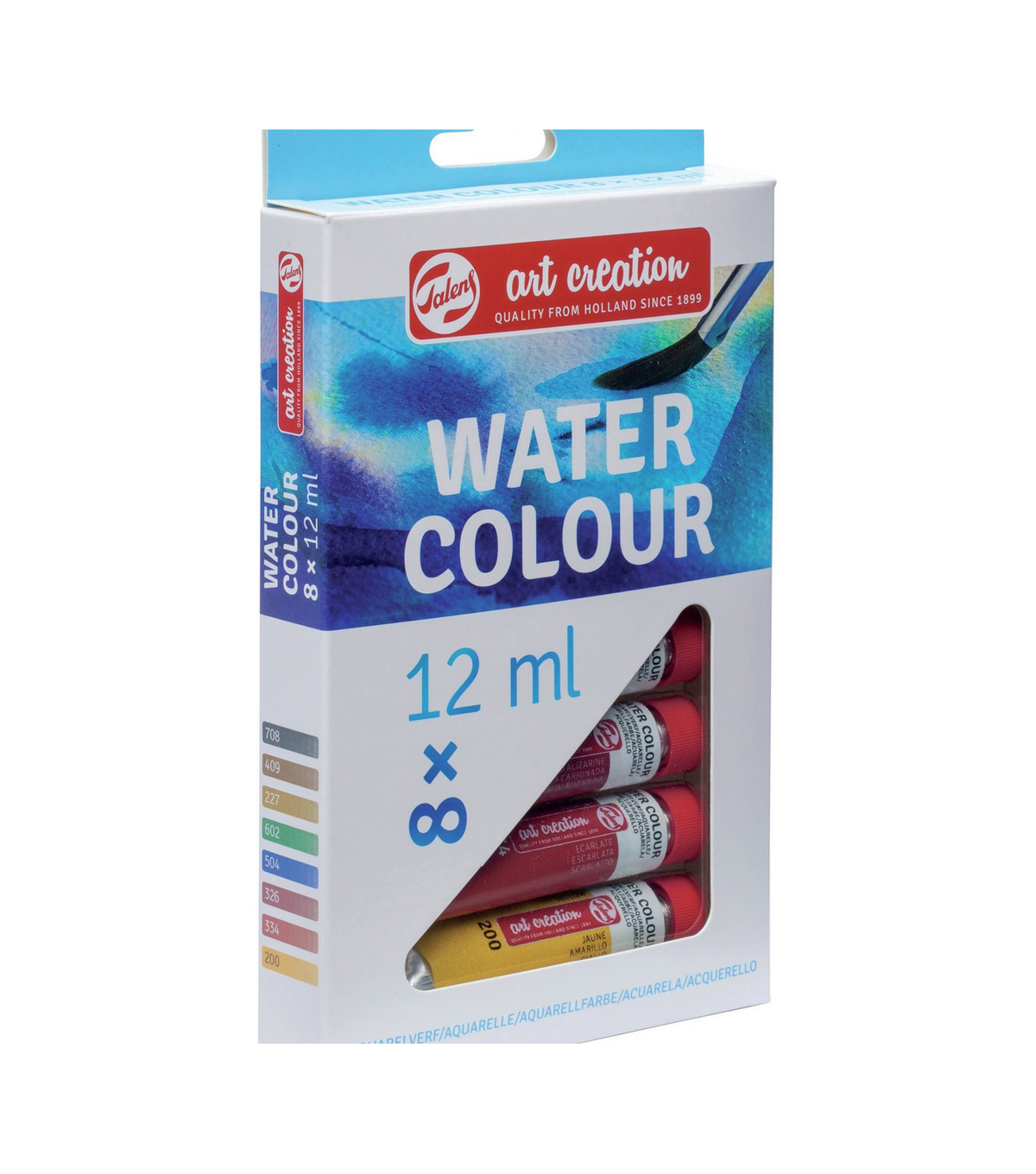 Talens Art Creation 8 pk 0.4 fl. oz. Water Colour Paint