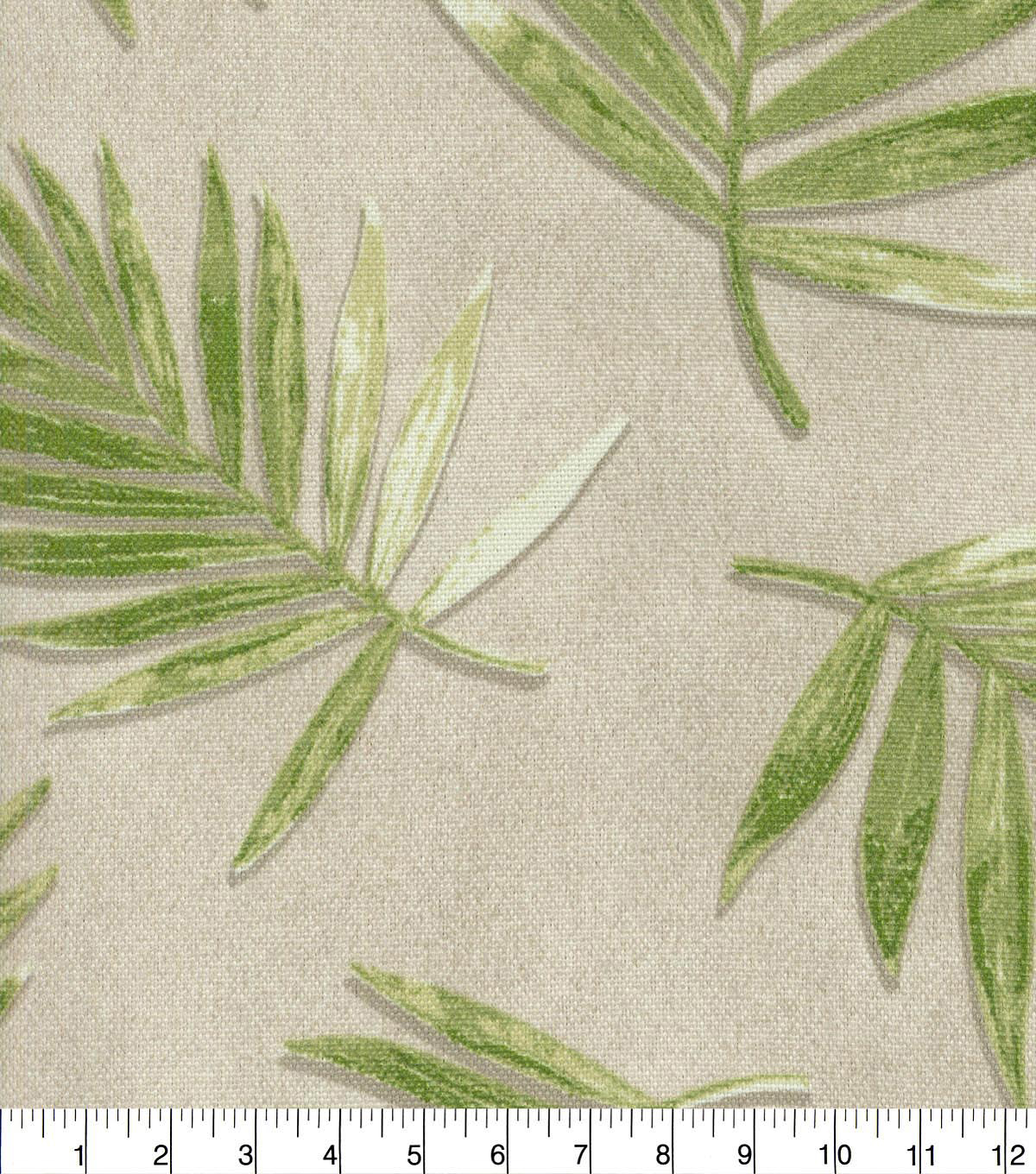P/K Lifestyles Home Decor 8\u0022x8\u0022 Swatch-Fossil Fronds Leaf