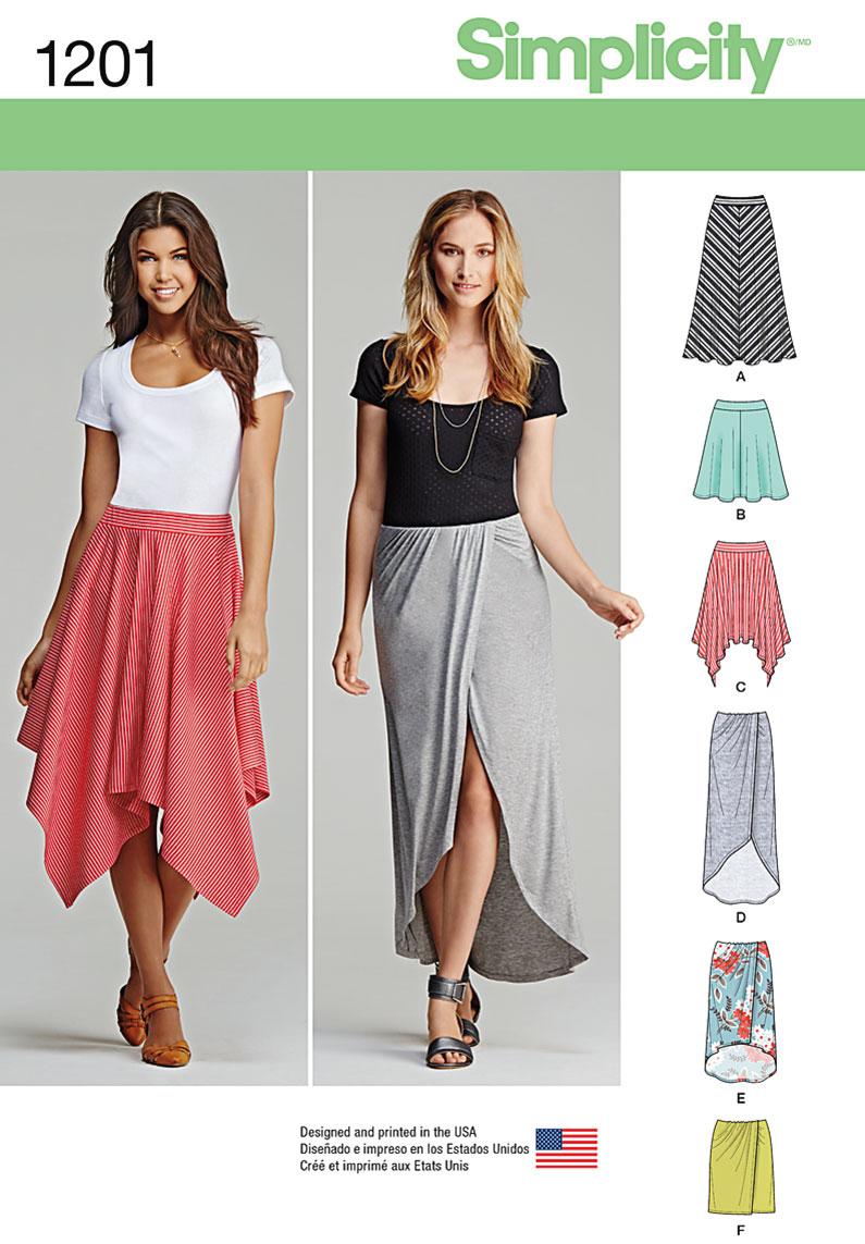 Simplicity Skirt Patterns Custom Design Ideas