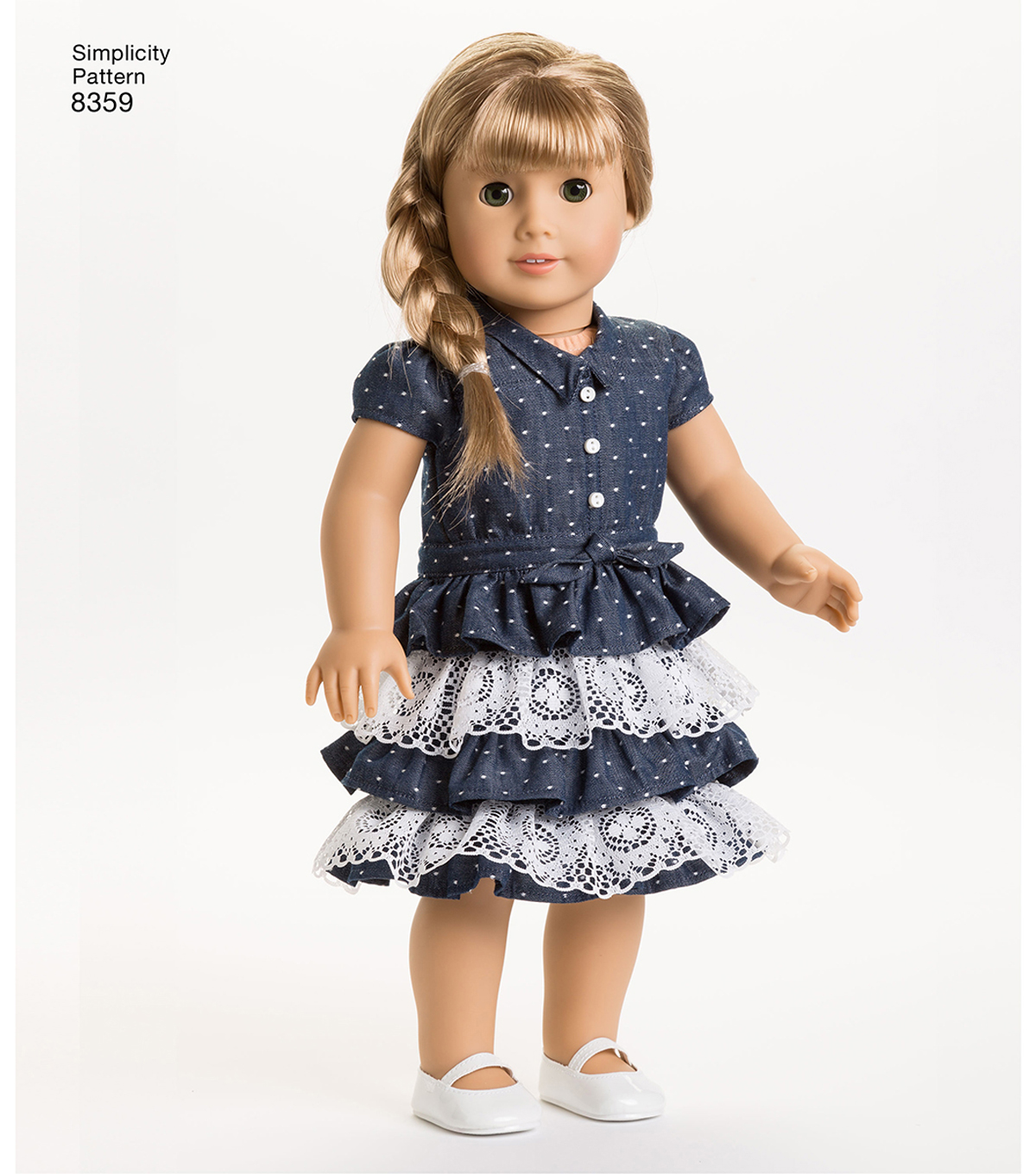 Simplicity Pattern 8359 18 Doll American Girl Clothes Joann