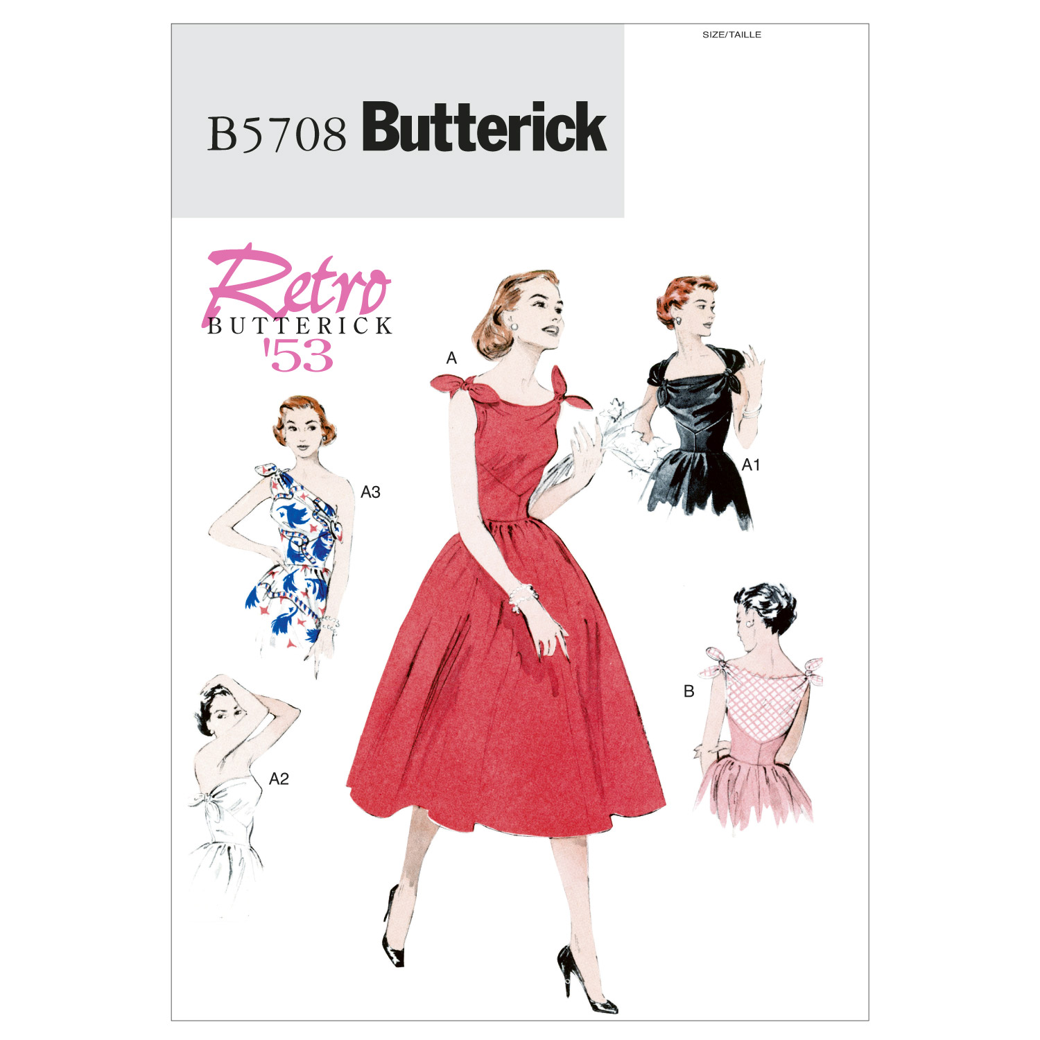 Butterick Misses Dress-B5708