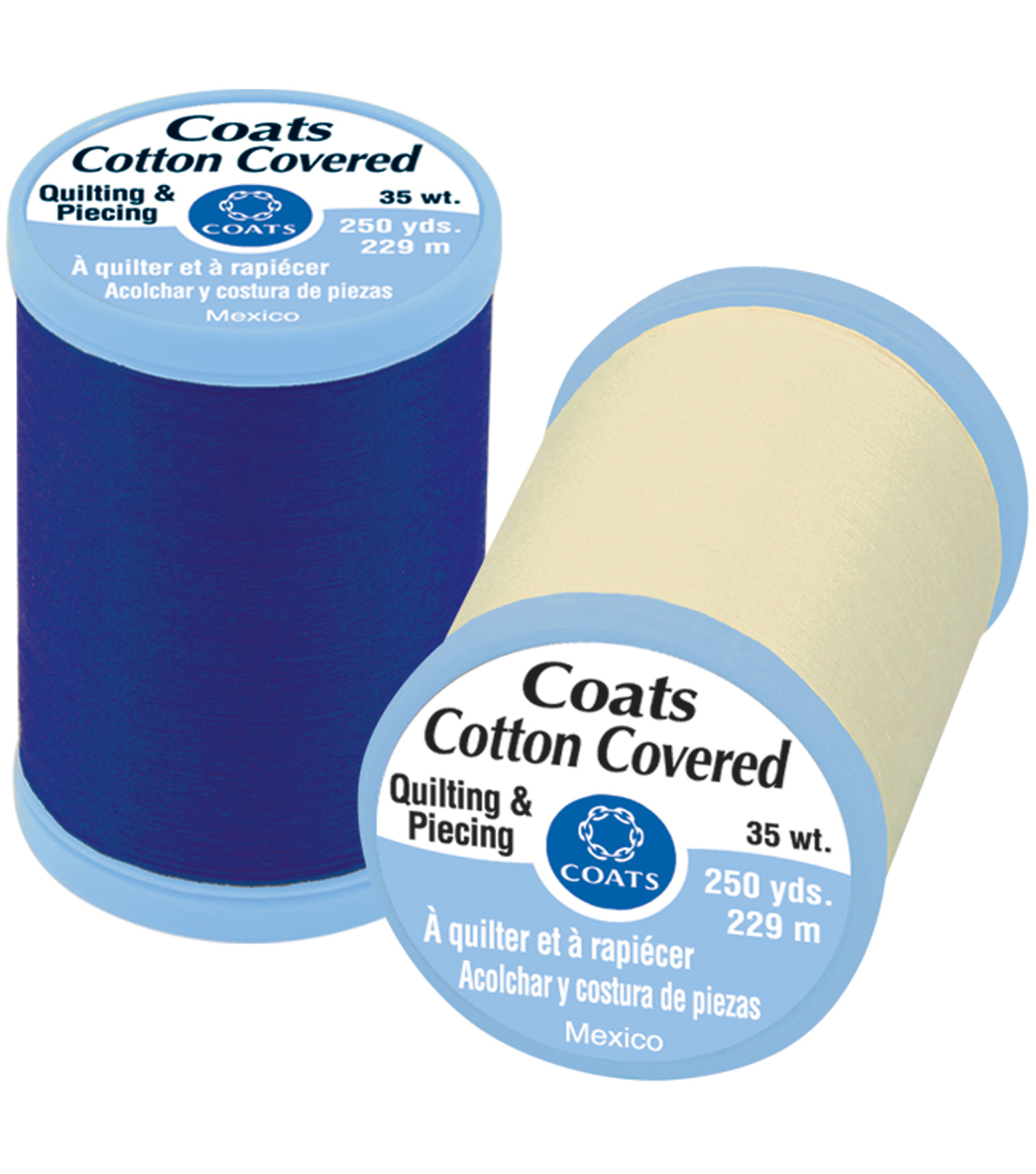 Coats & Clark Cotton Covered Quilting & Piecing Thread 250 Yards , 100 White