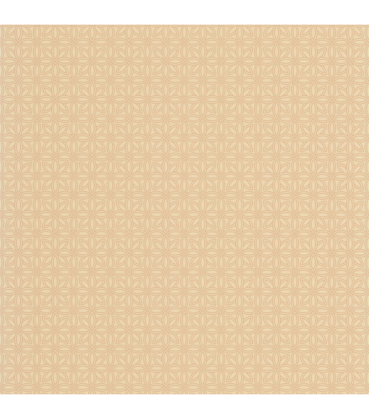 Tangine Gold Mini Moroccan Geometric Wallpaper Sample