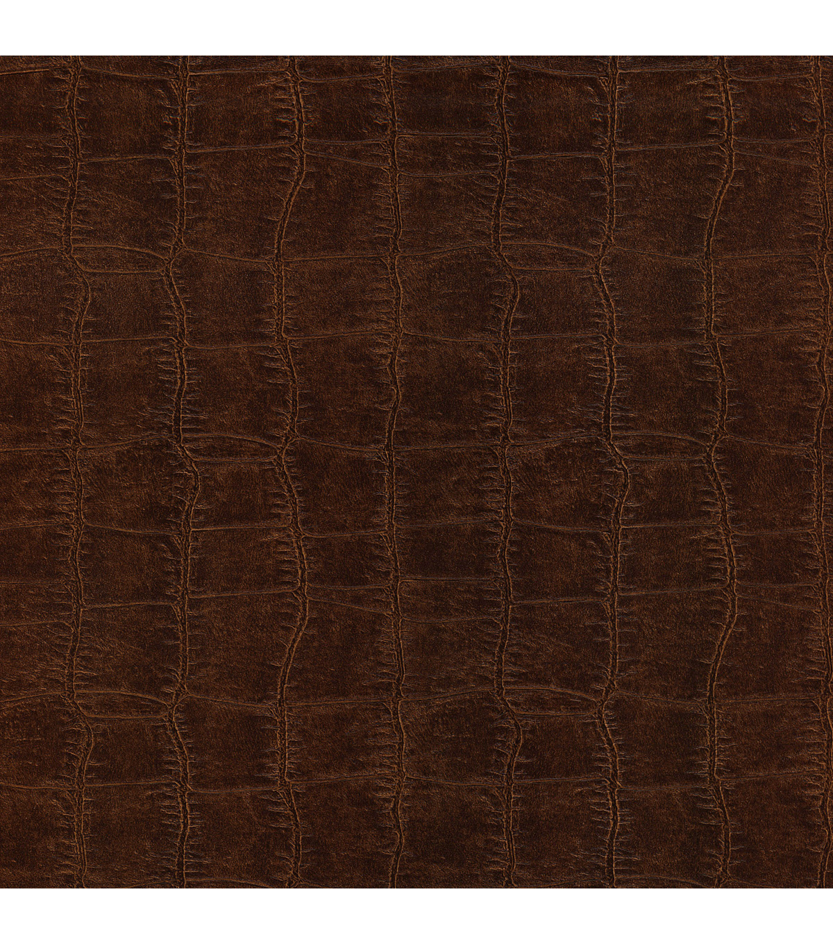 Cairo Brown Leather Wallpaper Sample