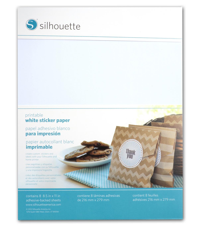 silhouette of america printable sticker paper 85u0022x11u0022