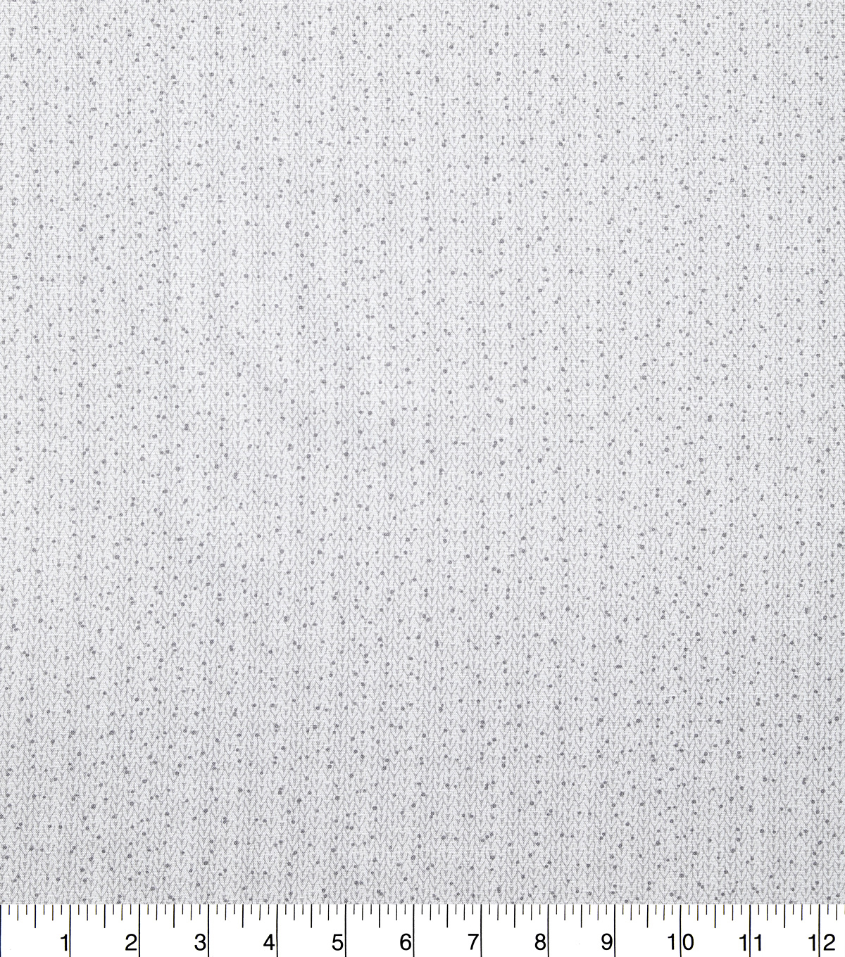 Christmas Cotton Fabric-Cable Knit on White
