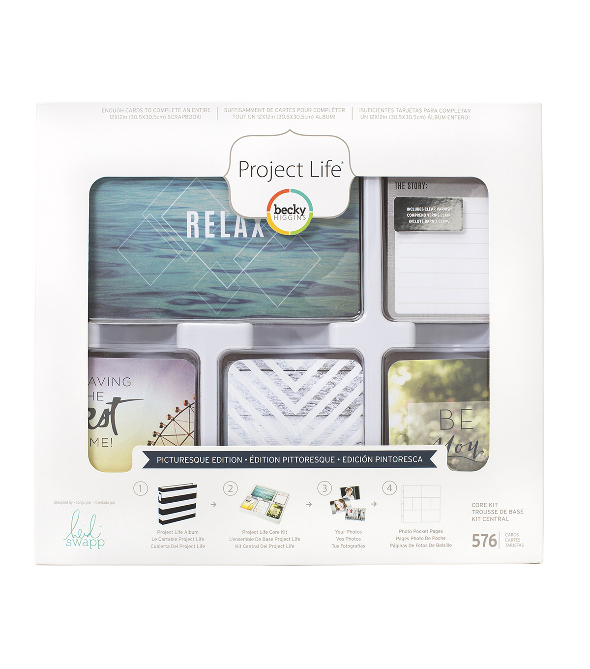 Heidi Swapp Project Life Picturesque Core Kit