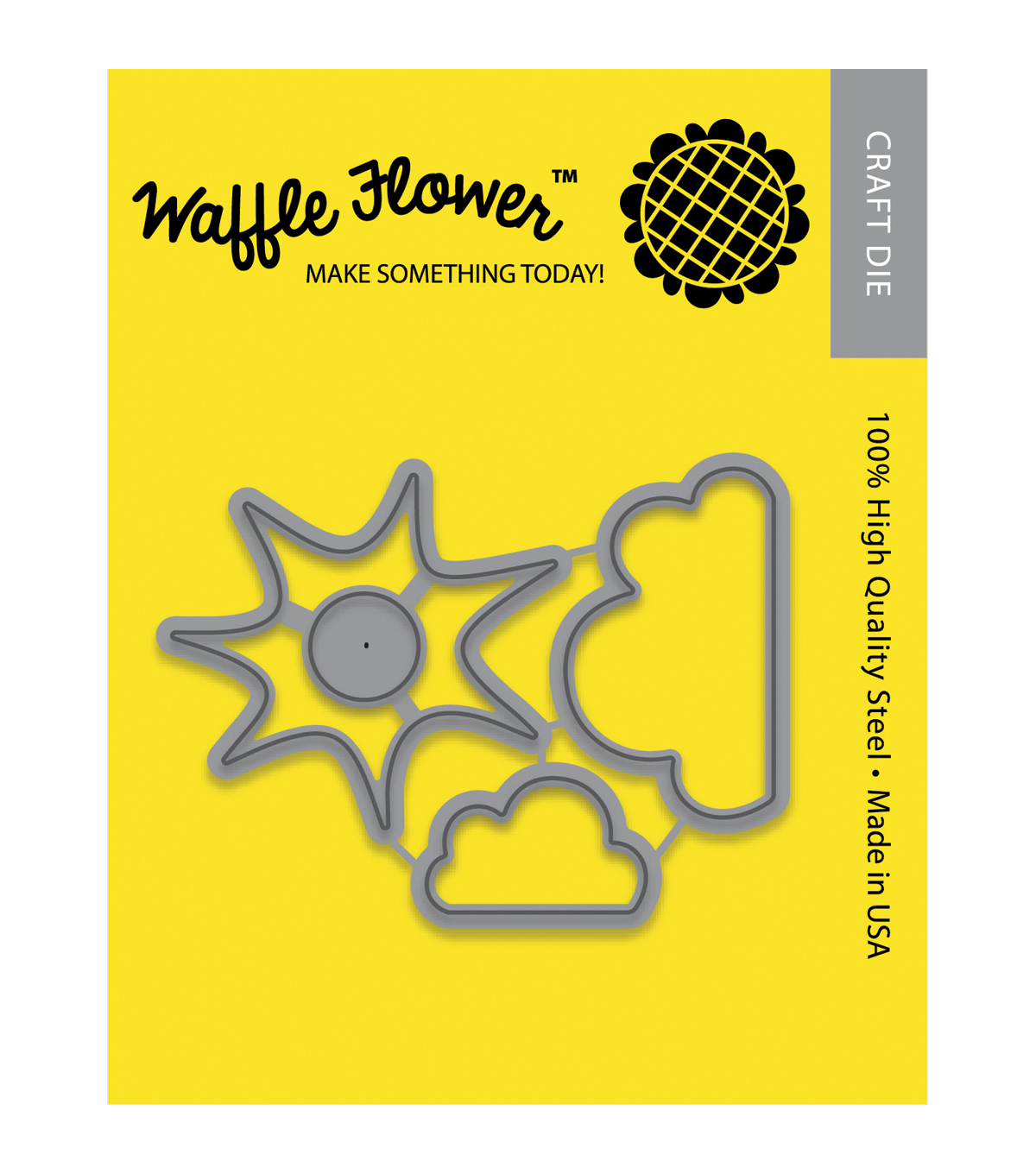 Waffle Flower Crafts Die-Partly Cloudy