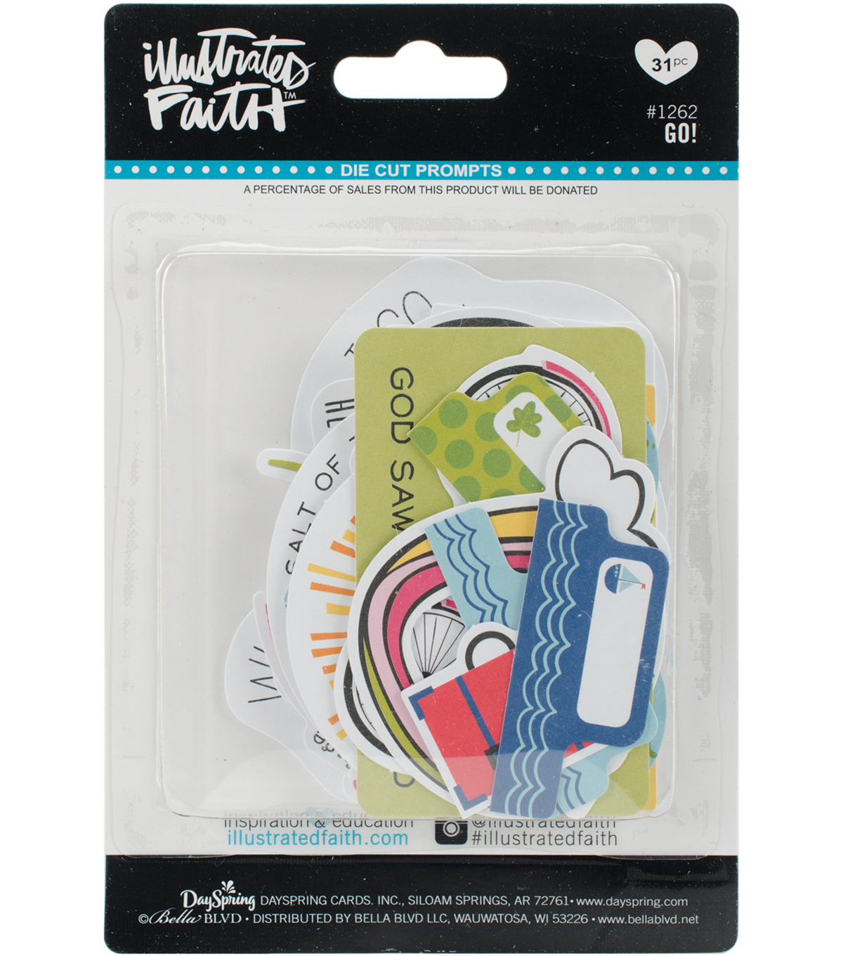 Illustrated Faith Basics Paper Pieces Cardstock Die-Cuts-Go!