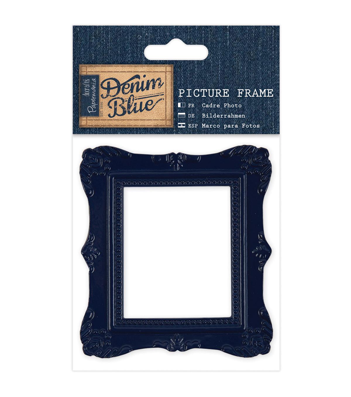 Papermania Denim Blue Picture Frame | JOANN