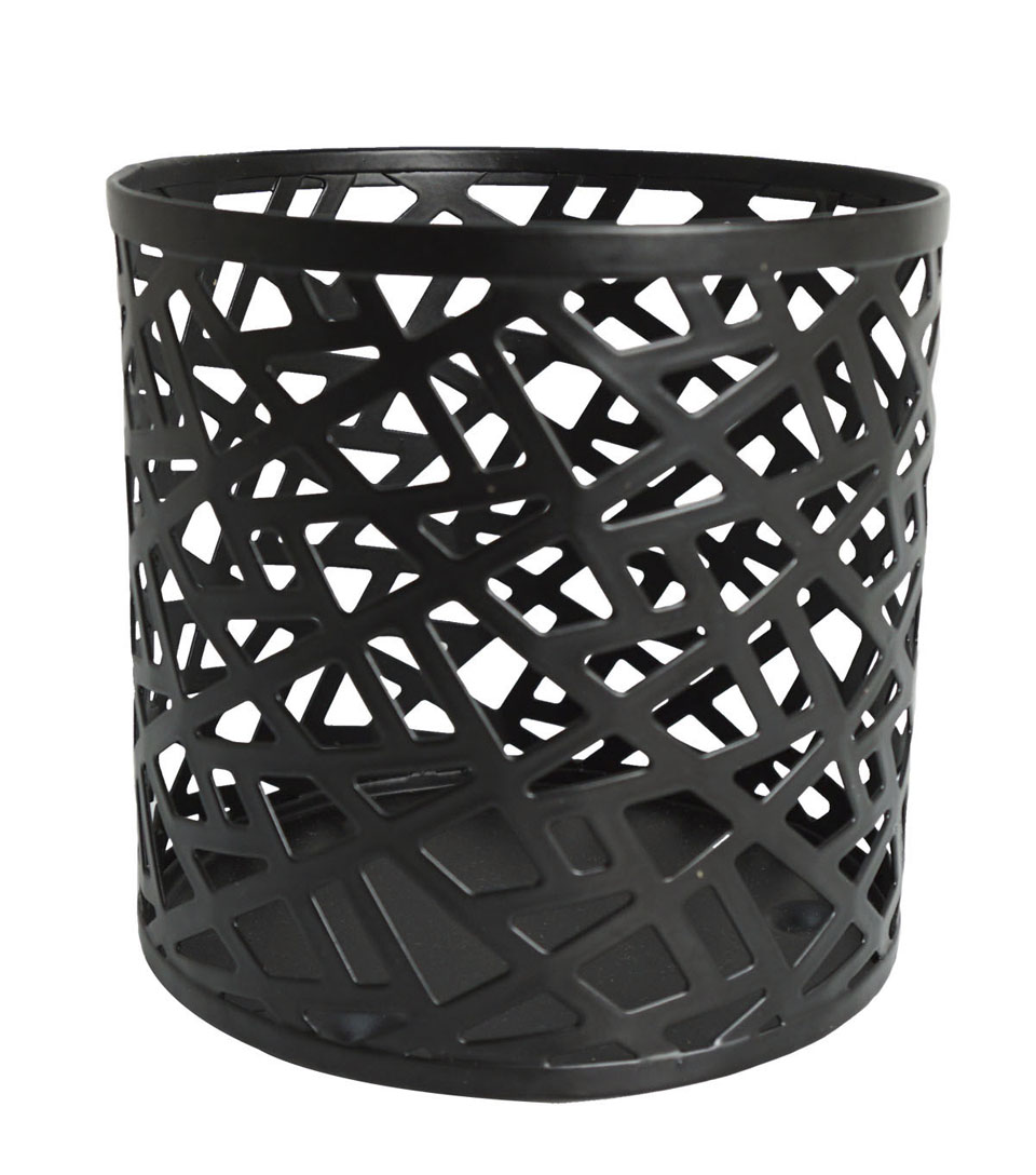 Hudson 43 Abstract Candle Sleeve-Black