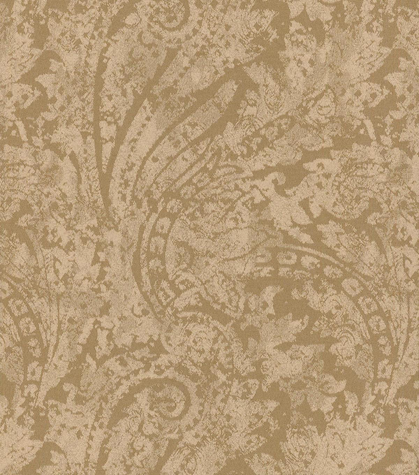 Waverly Upholstery Fabric 55\u0022-Burnished Scroll/Bronze