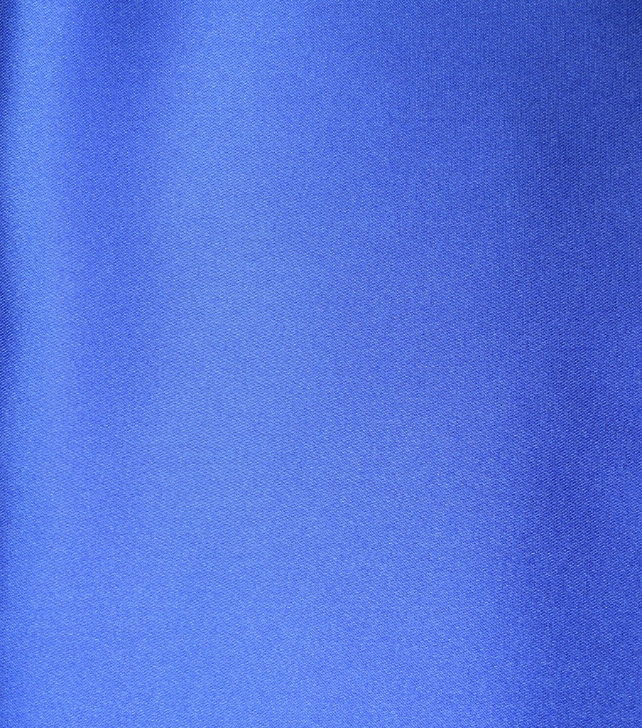Casa Collection Shiny Satin Fabric, Dazzling Blue