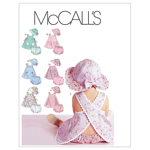 McCall\u0027s Infants Casual-M6303