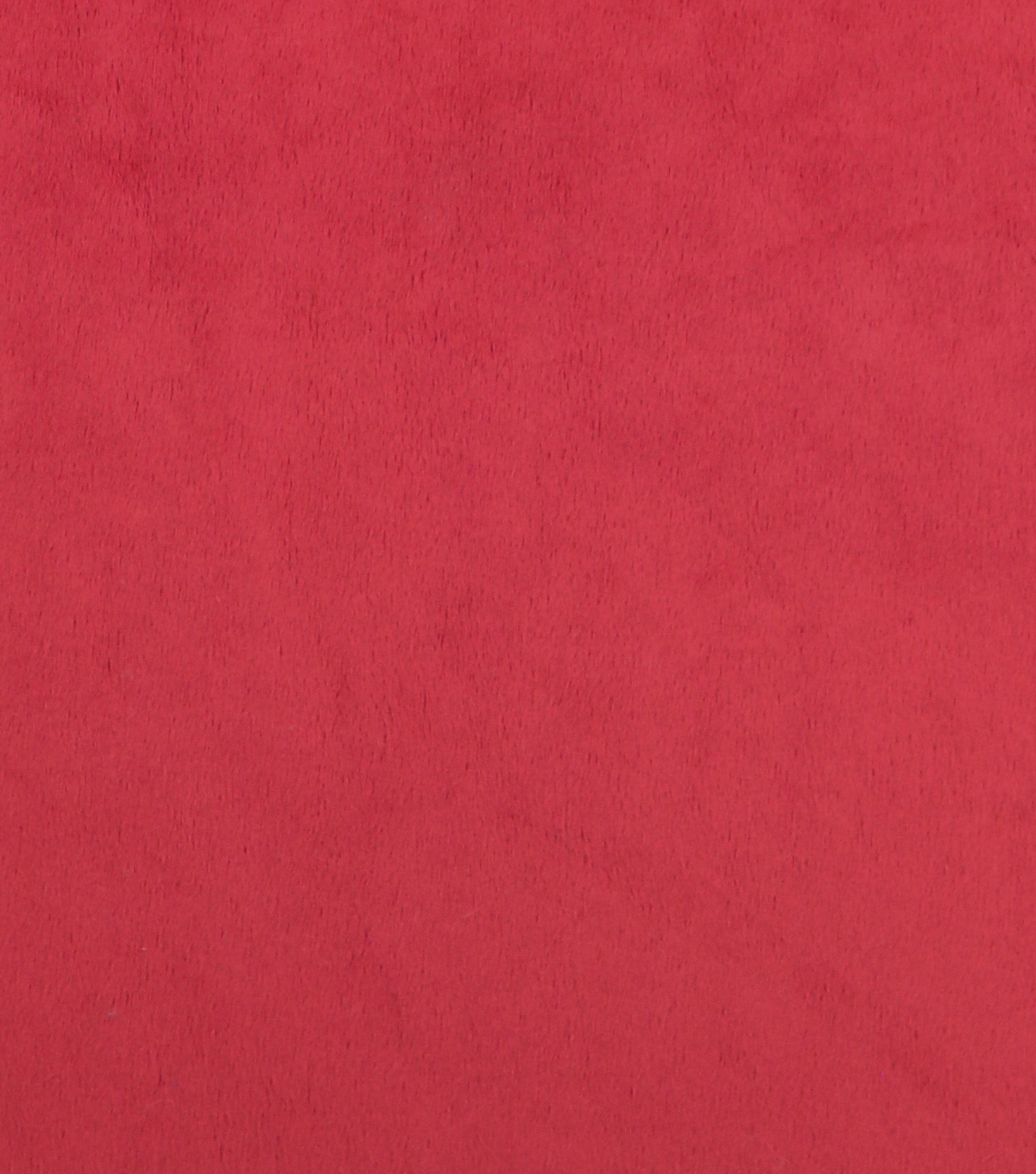 Soft & Minky Fleece Fabric -Solids, Red