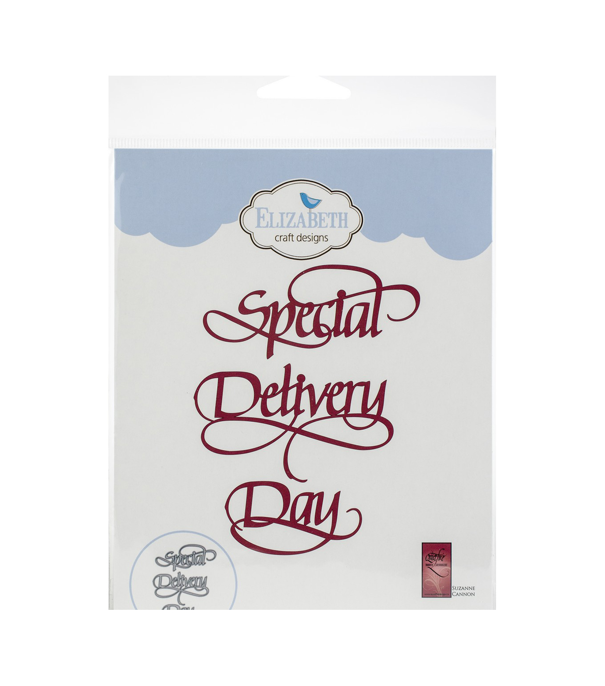 Elizabeth Craft Designs A Way with Words Metal Dies-Special Delivery Day