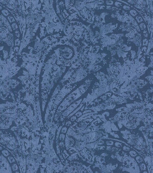 Waverly Upholstery Fabric 55\u0022-Burnished Scroll/Indigo