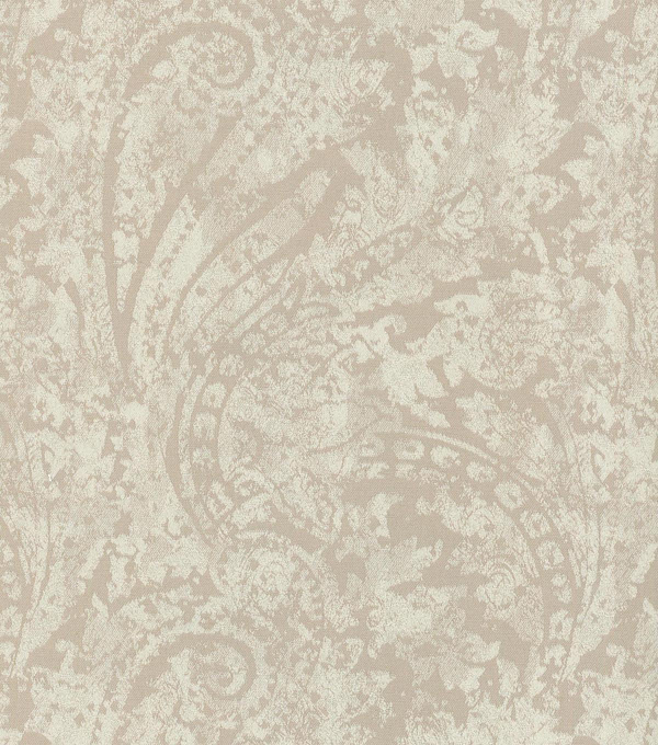 Waverly Upholstery 8x8 Fabric Swatch-Burnished Scroll/Alabaster