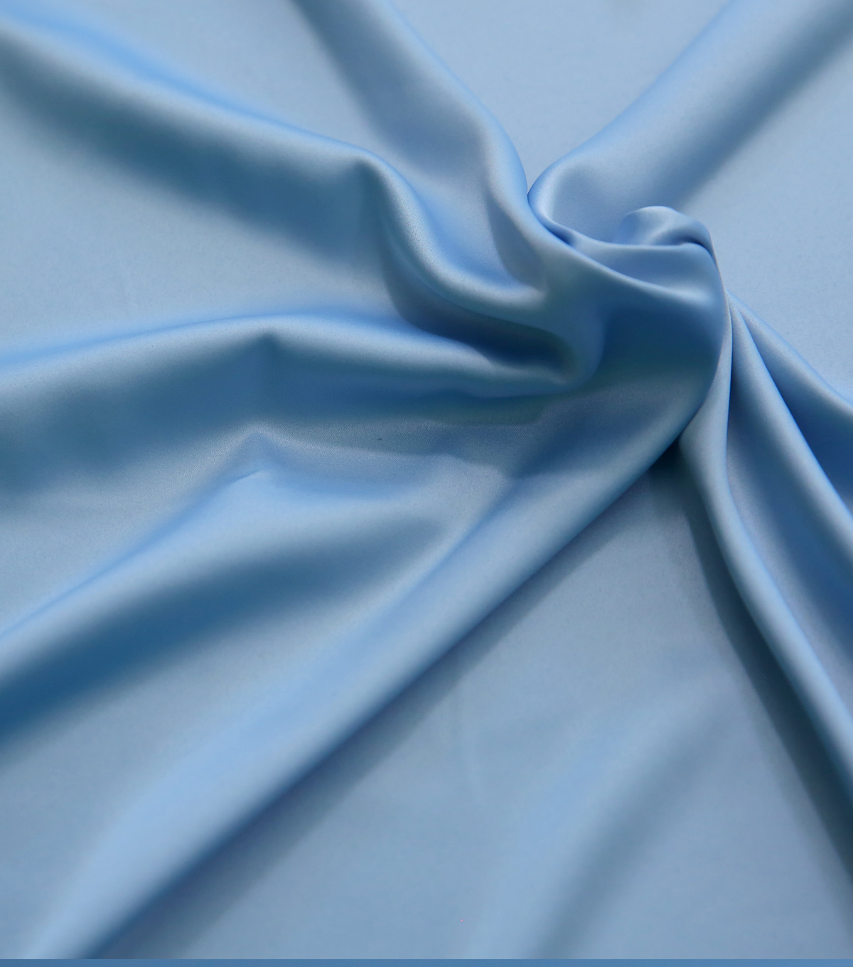 Simply Silky Solid Stretch Fabric -Light Blue