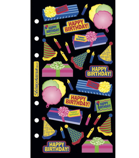 Sticko Classic Stickers-Birthday Bash
