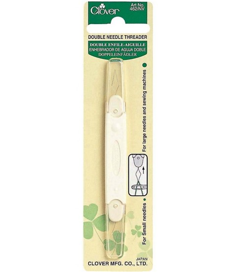 Clover Double Needle Threader Set Of 3