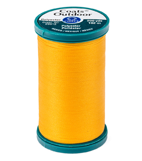 Coats & Clark Outdoor 200yd Thread, Coats Outdoor 200yd Spk Gold
