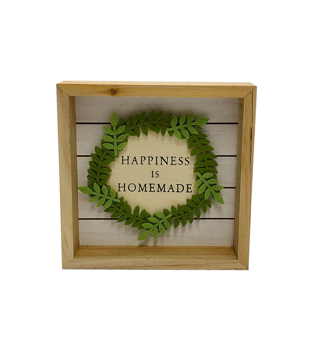 Simply Spring Wall Decor-Happiness is Homemade on Natural