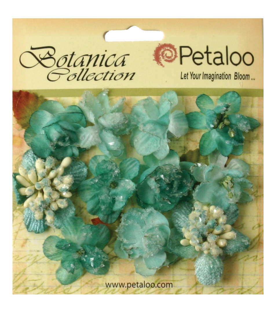 Petaloo Botanica Sugared Mini Blooms 1.25\u0027\u0027