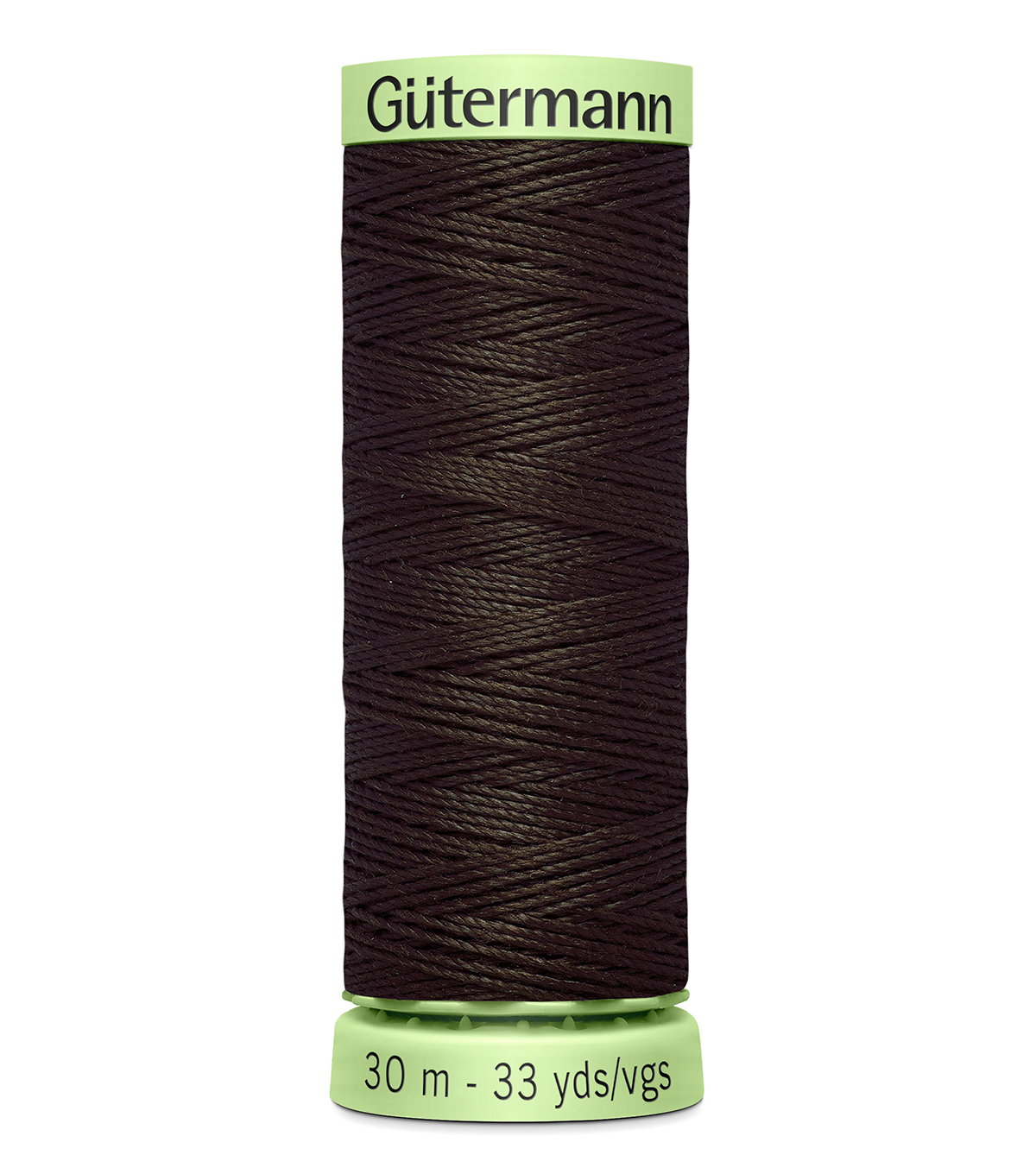 Top Stitch Heavy Duty Thread 33 Yards-, 596 Brown