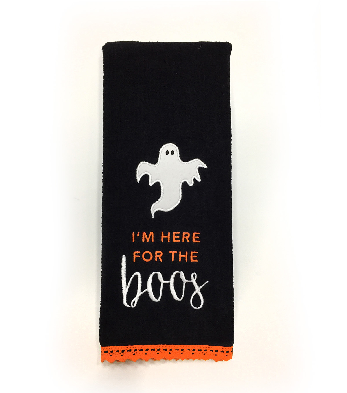 Maker\u0027s Halloween 16\u0027\u0027x28\u0027\u0027 Towel-I\u0027m Here for the Boo\u0027s