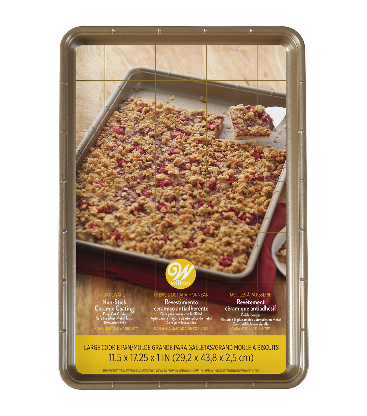 Wilton Large Non-stick Ceramic Coated Cookie Pan
