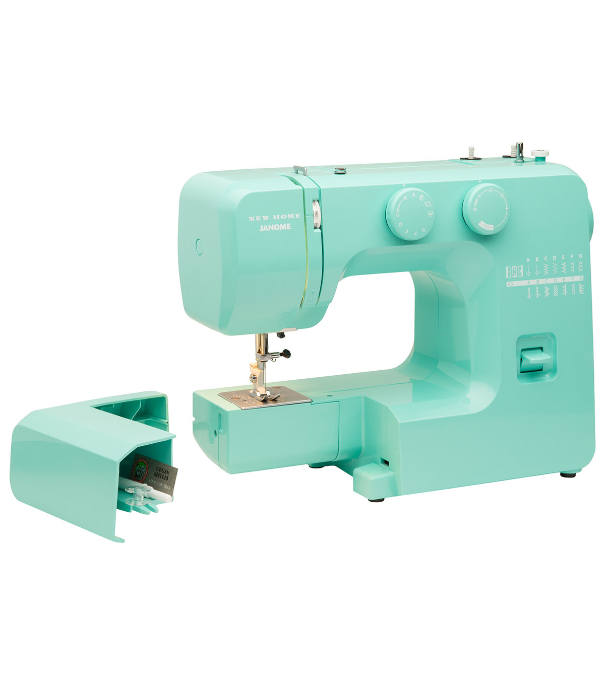 Janome Easy Sewing Machine with Bonus Accessory Bundle-Arctic Crystal