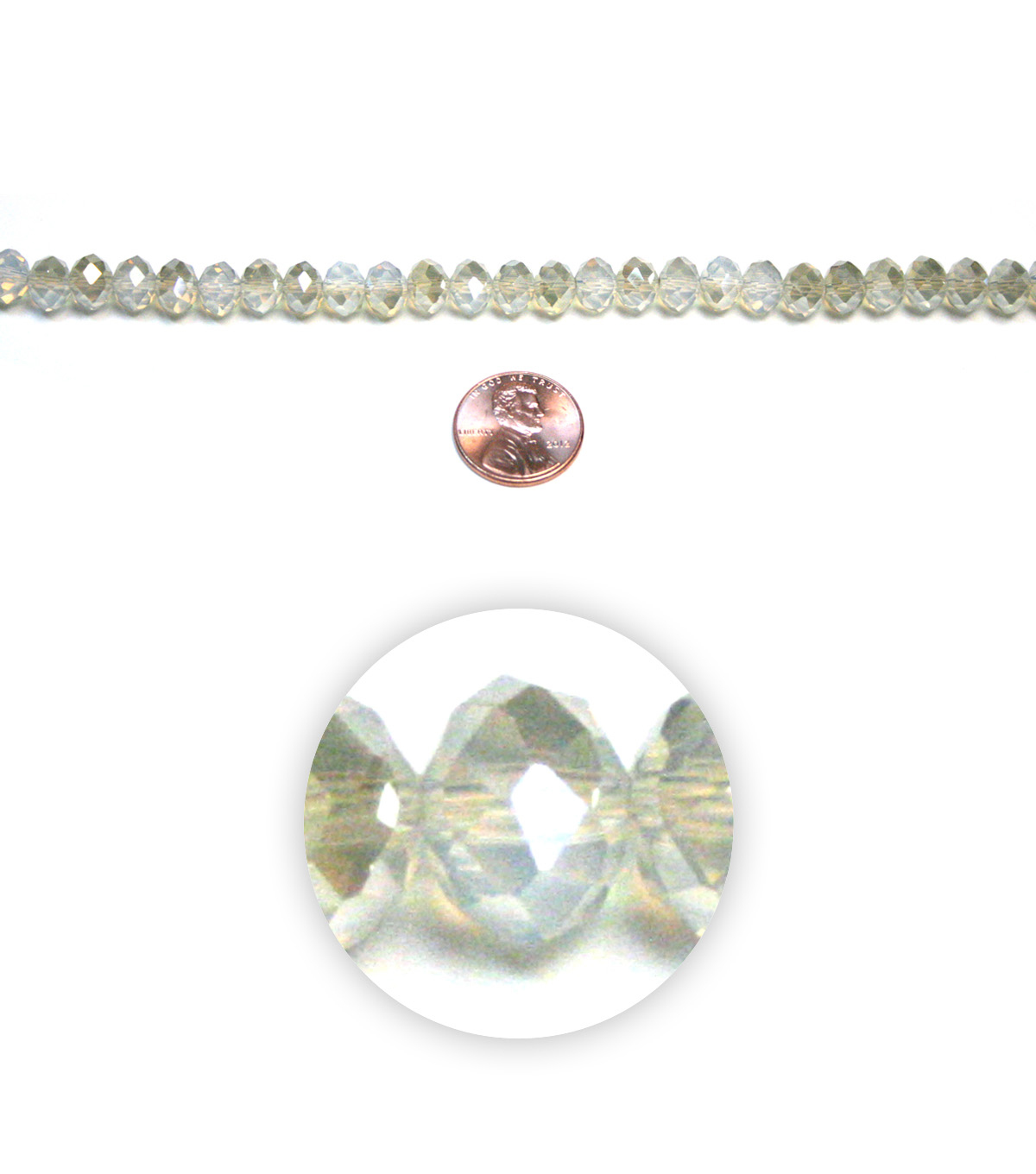 Terra Crystalline Glass Beads
