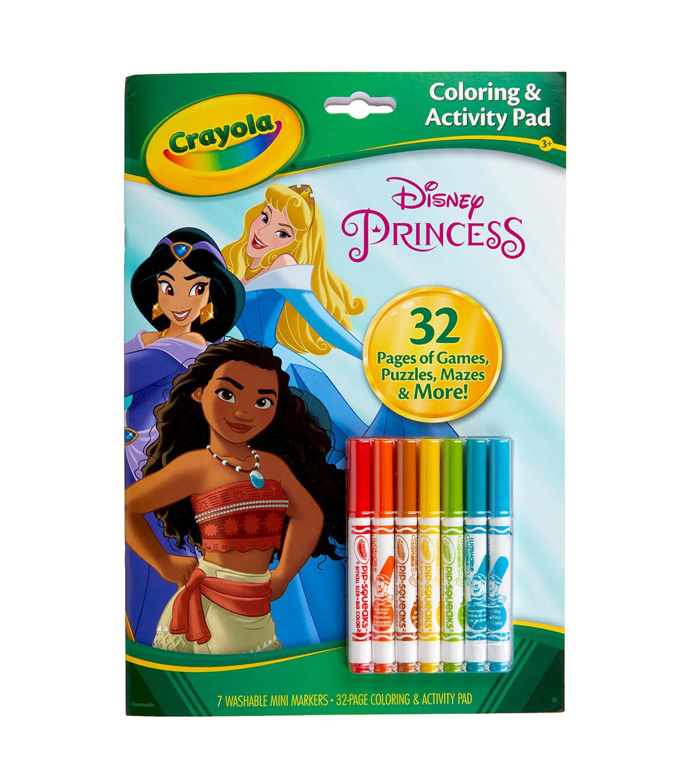 Crayola Coloring & Activity Set-Disney Princess