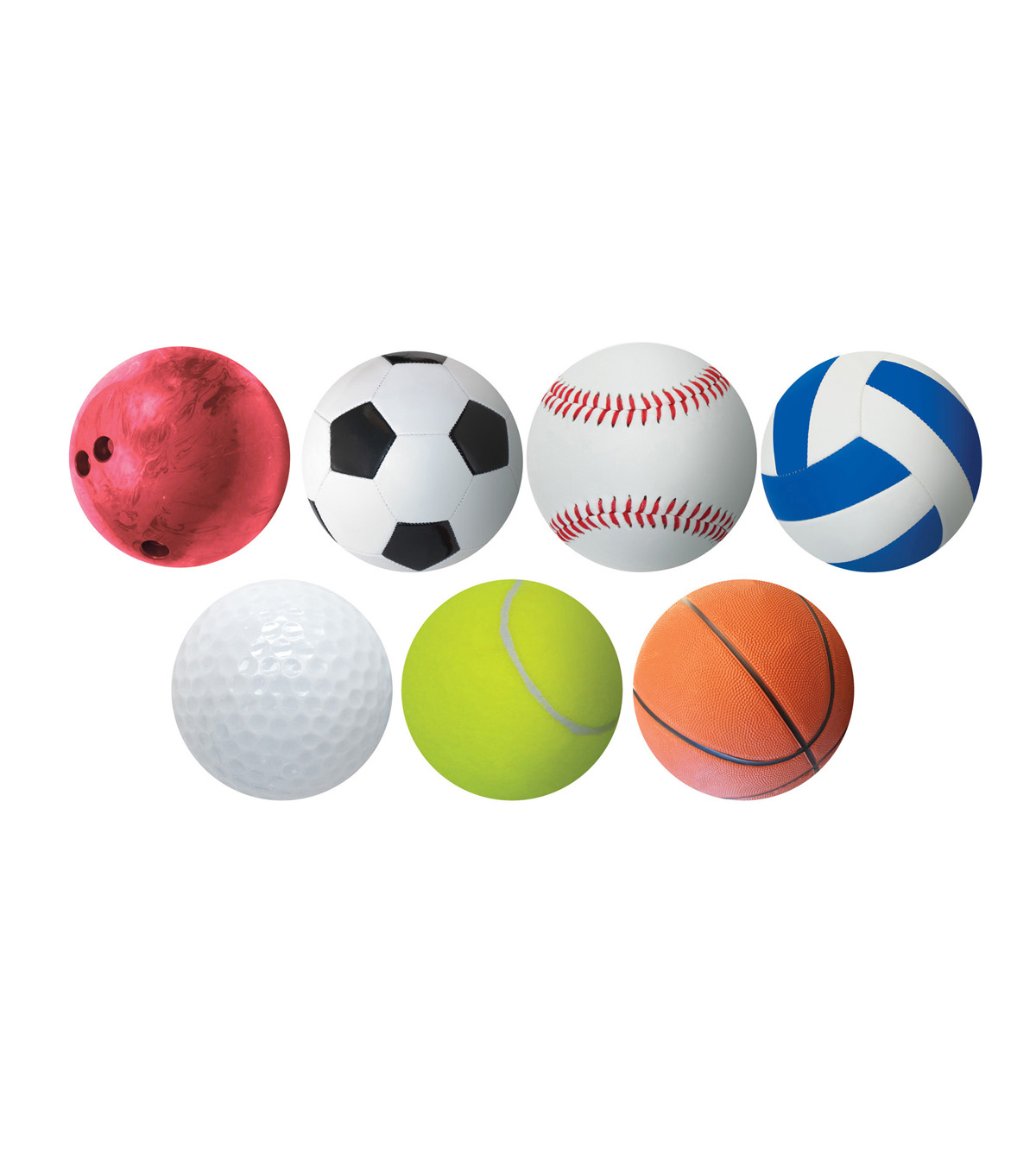 6in Sports Accents 30/pk, Set of 6 Packs