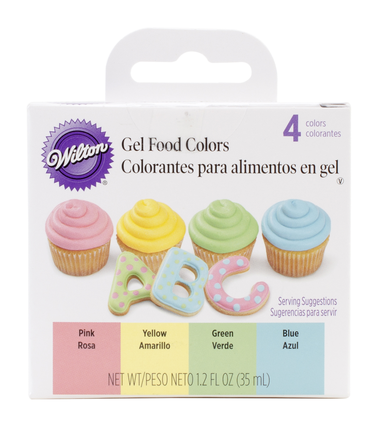 Wilton Gel Icing Color Set