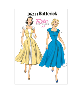 Butterick Misses Dress-B6211