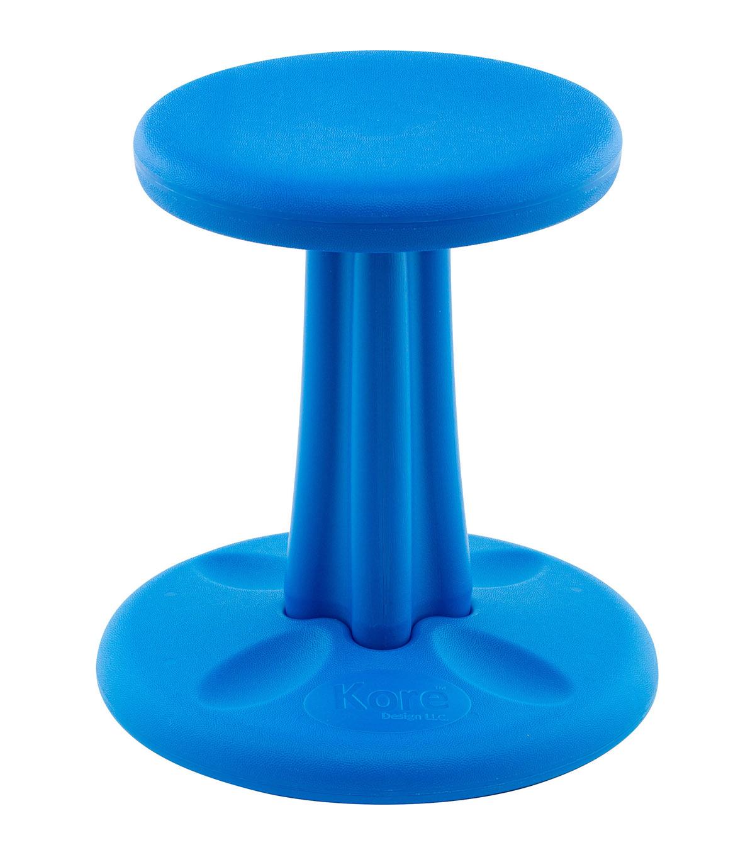 Astounding Kids Kore Wobble Chair Blue Inzonedesignstudio Interior Chair Design Inzonedesignstudiocom