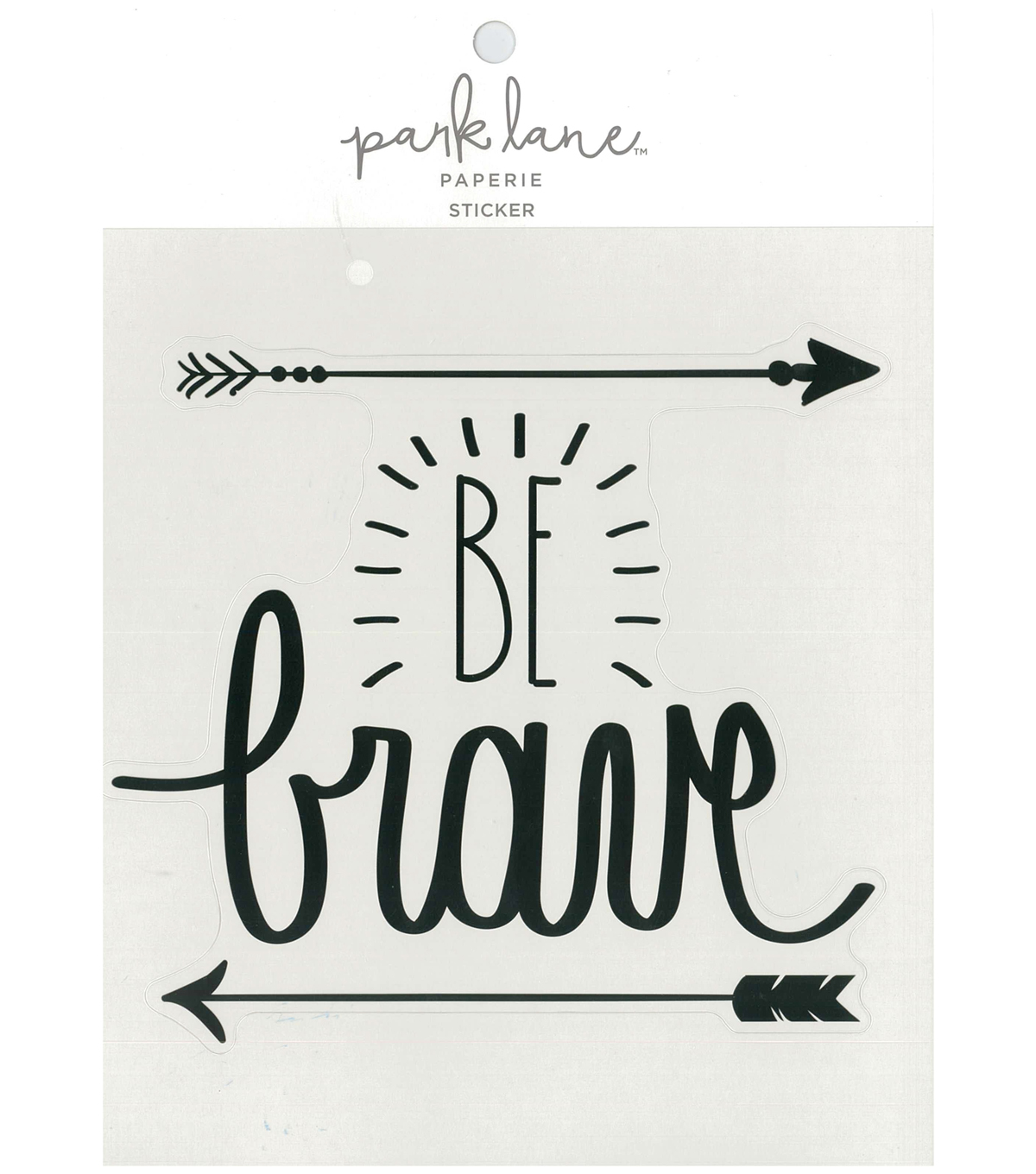 Park Lane Paperie Large Sticker-Be Brave